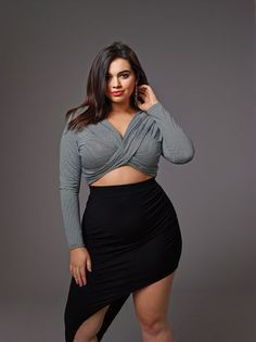 Curvy Girl Fashion Outfits, Plus sized clothing, fashion tips, plus size fall wardrobe and refashion. Fall and Autmn Fashion Outfits Trends for Plus Size. Look Plus Size, Plus Size Girls, Plus Size Model, Women's Plus Size Style, Curvy Plus Size, Curvy Girl Fashion, Look Fashion, Plus Size Fashion, Trendy Fashion