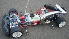 Technokit 1/5 touring car model
