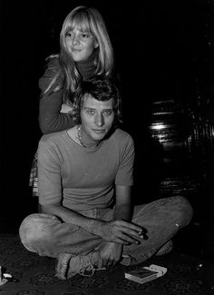 Johnny Hallyday and Sylvie Vartan by Patrick Bertrand, 1965 Johnny Hallyday Sylvie Vartan, Johnny Halliday, Festival Quotes, Vartan Sylvie, Roger Moore, Rare Pictures, Music Icon, Led Zeppelin, Pop Group
