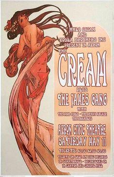 Cream 1968 Akron, Ohio