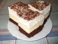 Hasznos cikkek és receptek: Hevesi krémes My Recipes, Recipies, Cooking Recipes, Cake Bars, Something Sweet, Vanilla Cake, Nutella, Tiramisu, Food And Drink