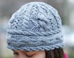 Discount Pattern Set: Hiawatha Cable Hat and by JenniLansing