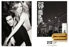 Jon Kortajarena is All Smiles for Carolina Herrera 212 VIP Fragrance Campaign