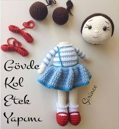 As Elisidery, we present you a new # amigurumi model # with # # # that we have prepared for you. # Amigurumi # among your children& favorite toys, Crochet Dolls Free Patterns, Crochet Motifs, Crochet Doll Pattern, Amigurumi Patterns, Hand Crochet, Crochet Baby, Amigurumi Free, Crochet Amigurumi, Amigurumi Doll
