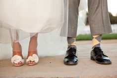 love this.. I think it would be awesome if Tyler wore crazy socks like this in our wedding colors. :)