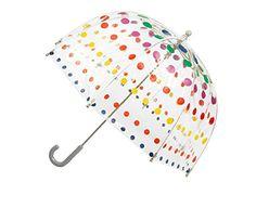 Totes Kids Bubble Umbrella - Primary Dots