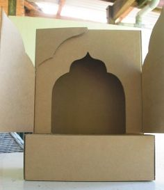 cutting doors for your shrine from http://www.personalshrines.com.au