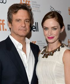 "COLIN FIRTH, EMILY BLUNT ""ARTHUR NEWMAN"" http://britsunited.blogspot.com/2013/04/colin-firth-emily-blunt-star-in-road.html"
