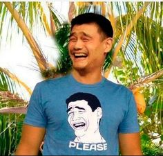 Yao Ming, former Houston Rocket basketball star, has his own internet meme.