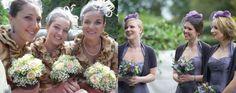 Bridesmaids fascinators