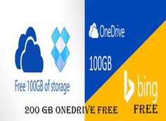 Looking for more Microsoft OneDrive cloud storage ? have data more then 100 gb ? here is the trick to get free 200gb Microsoft Onedrive space.