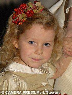 The Hon. Margarita Elizabeth Alleyne Armstrong-Jones. BORN: 14 May, 2002, to Viscount and Viscountess Linley.