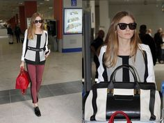 Olivia Palermo | Cannes | airport style