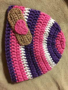 Doc McStuffins crochet beanie