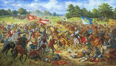 Галицькі хоругви у Грюнвальдскій битві 15 липня 1410 року