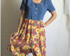 sunflower dress – Etsy