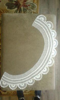 hackovany golier na kroj Crochet Necklace, Jewelry, Fashion, Jewlery, Moda, Crochet Collar, Jewels, La Mode, Jewerly