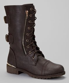 Brown Lug Stitch Boot. Need this with leg warmers and dark skinny jeans