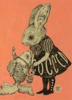 Higuchi Yuko's illustrations