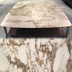 Flexform Finish/Fabric Friday!!! This week we are featuring Flexform's fabulous Calacatta Oro marble, mined in the same area as Carrara marble, this luxurious material tops our Double table, come see it for yourself in our Manhattan showroom.   #flexform #flexformny #newyork #marble #coffeetable #FlexformFinishFabricFriday #CalacattaOro