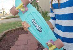 penny board♡ love that tumblr sticker