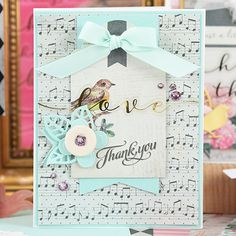 Bird & Floral Card Kit - Card Kit of the Month Club