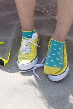Sale!! Bonnie Doon Dazzling Dots Short #Sock