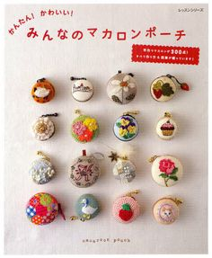Easy & Kawaii Macaron Pouch - Japanese Craft Pattern Book - JapanLovelyCrafts