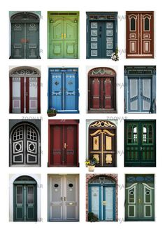 4 X 4 = 16 Doors of Denmark.  Someone else who likes doors. Yeah!