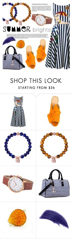"""Summer brights!"" by christianpaul ❤ liked on Polyvore featuring Dolce&Gabbana, Charlotte Olympia, Dasein, EARTH TU FACE, Ellis Faas, contestentry, summerbrights and christianpaulwatches"