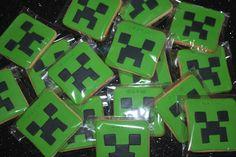 Galletas Minecraft