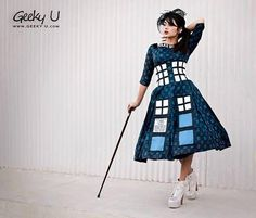 The Perfect Dress to Travel Through Time and Space! [Pics]