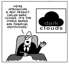 CloudTweaks tech comics are a great way to maintain interest and keep what some consider boring and heavy, entertaining and light. Dark Cloud, Cloud Data, Tech Humor, Light Side, Cloud Computing, Artificial Intelligence, Advent, Cool Pictures, Cartoons