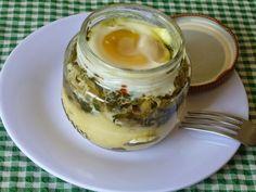 Piteis da Dinha: EGG-SLUT  (ovo com purê de batata no pote)