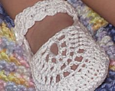 Ravelry: Italian Mary Janes pattern by Maria Bittner