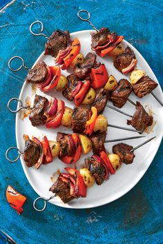 Cooking Tips And Tricks Cooking Tips Eggs Cooking Tips Pampered Chef - Food Recipe Kabob Recipes, Steak Recipes, Grilling Recipes, Steak Meals, Grilling Ideas, Easy Recipes, Chicken Recipes, Campfire Dinner Recipes, Campfire Snacks