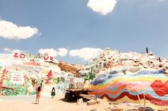 The Cherry Blossom Girl - Salvation Mountain 09
