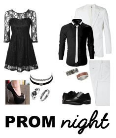 """""""Prom Night"""" by jayblack2662 on Polyvore featuring Neil Barrett, Stacy Adams, True Decadence, Charlotte Russe, West Coast Jewelry and King Baby Studio"""