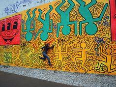 Keith Haring - Houston Street - SOHO - New York