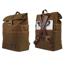 The Weekender Pannier and Backpack