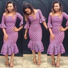 These are the most elegant ankara gown styles there are today, every lady who loves ankara gowns should see these ankara gown styles of 2019 African Print Dresses, African Print Fashion, African Wear, African Attire, African Fashion Dresses, African Women, African Dress, Ankara Fashion, African Prints