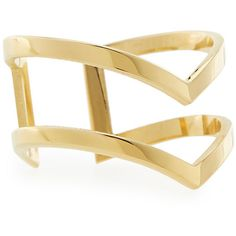 Jennifer Zeuner Stacked Odette 2 Ring ($220) ❤ liked on Polyvore