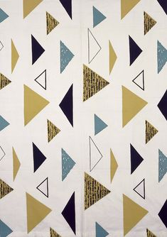 Robin and Lucienne Day Lucienne Day, Textile Patterns, Textile Design, Fabric Design, Print Patterns, Pattern Designs, Graphic Pattern, Graphic Design, 1950s Design