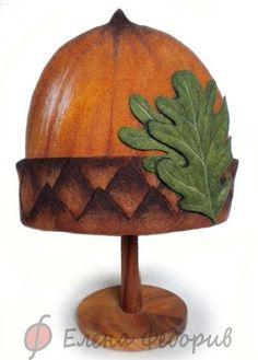 Farb-und Stilberatung mit www.farben-reich.com - Felted Hat by Elena Phedorif. Ярмарка Мастеров