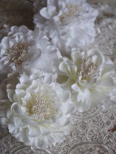 Hey, I found this really awesome Etsy listing at https://www.etsy.com/listing/210064854/ivory-peony-flowers-bridal-hair-flowers