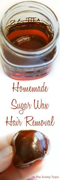 Remove unwanted hair quickly and easily with this homemade sugar wax recipe. Chances are you have everything you need already in your kitchen!