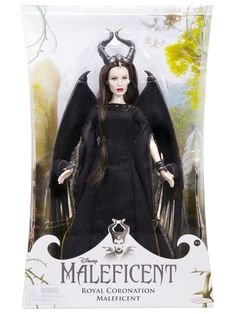 How incredible is the likeness between this Maleficent Doll and Angelina Jolie? #Maleficent