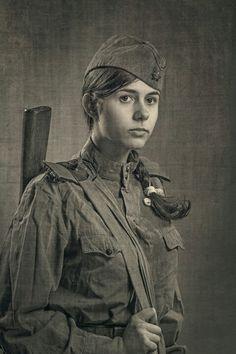 Русский солдат.