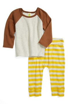 Stem Baby Organic Cotton Top & Pants (Baby Boys) available at #Nordstrom