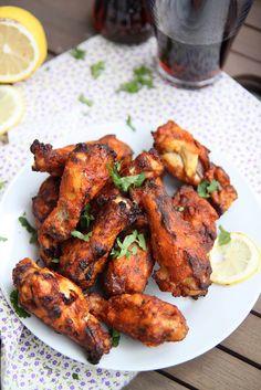 Tandoori Chicken Wings - american food meets indian food :)